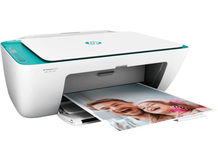 printer wifi  hp deskjet 2623