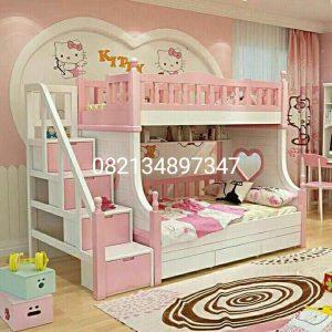 Tempat_Tidur_Tingkat_3T01_Pink