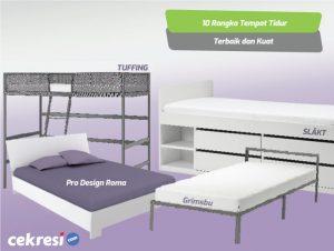 10 Rangka Tempat Tidur Terbaik dan Kuat