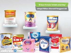 10 Susu Formula Terbaik untuk Bayi sebagai Pilihan Alternatif Pengganti ASI