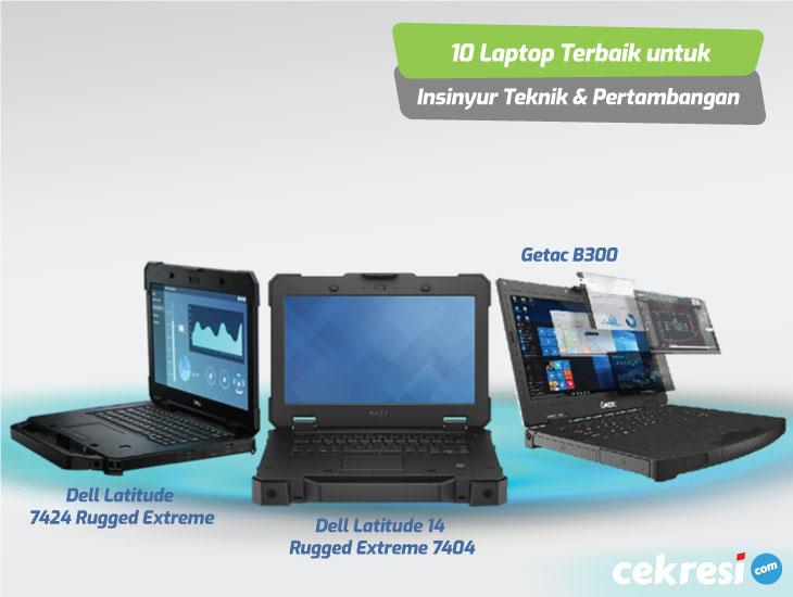 10 Laptop Terbaik untuk Para Insinyur Teknik dan Pertambangan