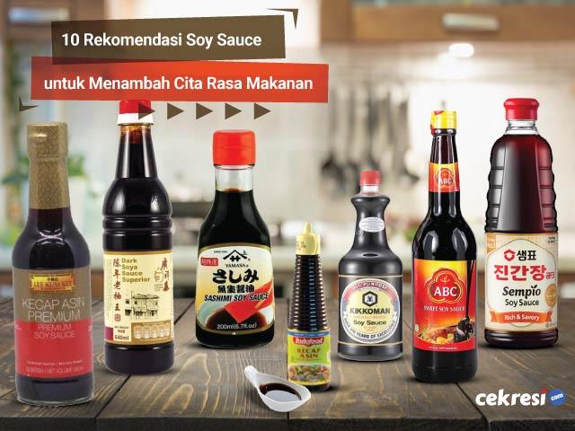 10 Rekomendasi Soy Sauce untuk Menambah Cita Rasa Makanan