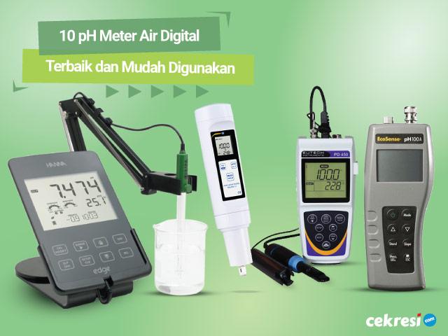 10 Rekomendasi pH Meter Air Digital Terbaik dan Mudah Digunakan