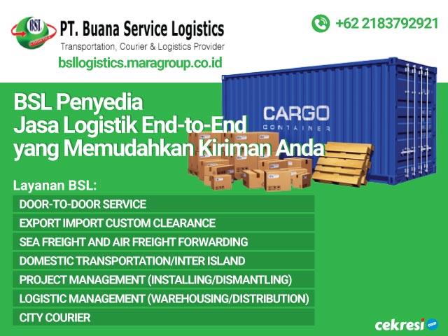 BSL Penyedia Jasa Logistik End-to-End yang Memudahkan Kiriman Anda