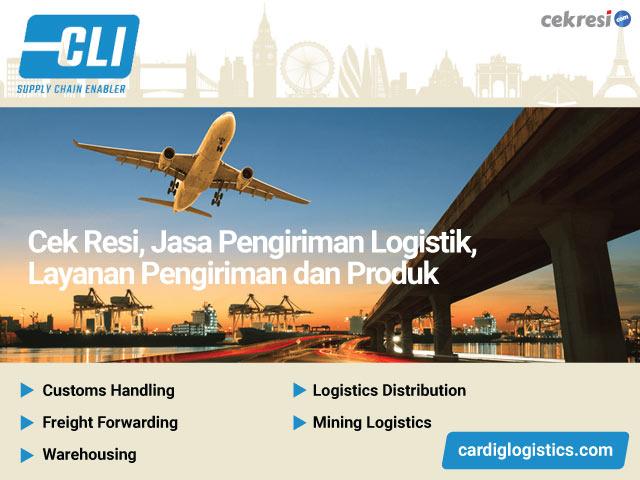 CLI Cek Resi, Jasa Pengiriman Logistik, Layanan Pengiriman dan Produk