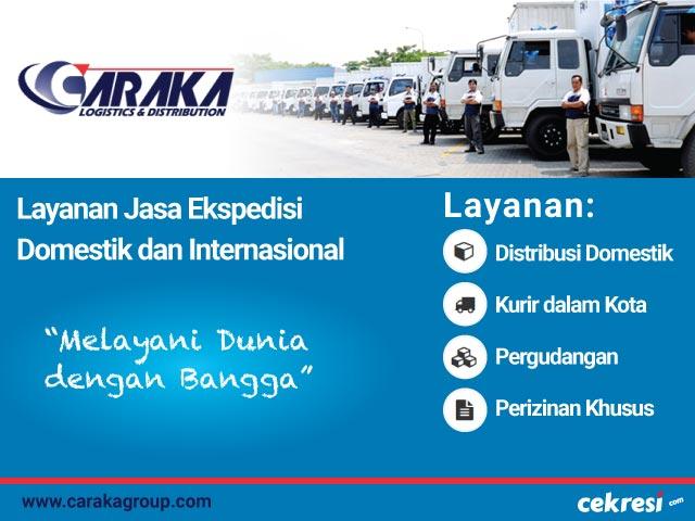 Caraka Logistic & Distribution: Layanan Jasa Ekspedisi Domestik dan Internasional