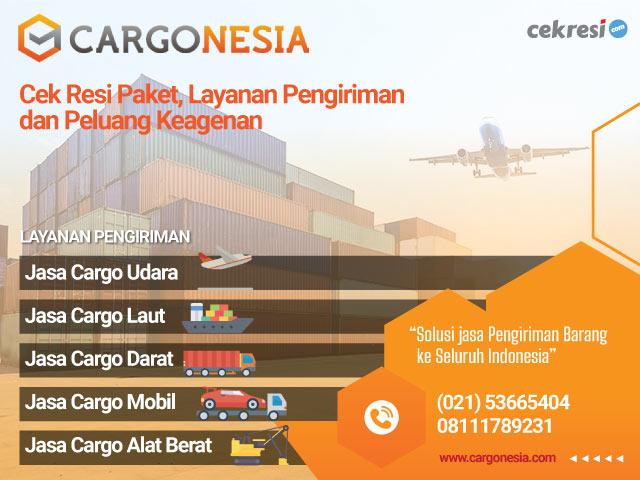 Cargonesia Express: Cek Resi Paket, Layanan Pengiriman dan Peluang Keagenan
