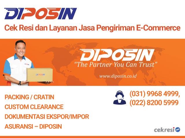 DIPOSIN: Cek Resi dan Layanan Jasa Pengiriman E-Commerce