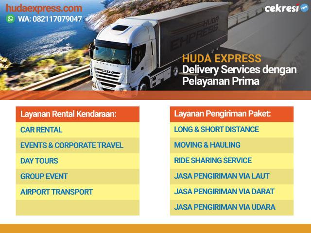 Huda Express: Delivery Services dengan Pelayanan Prima