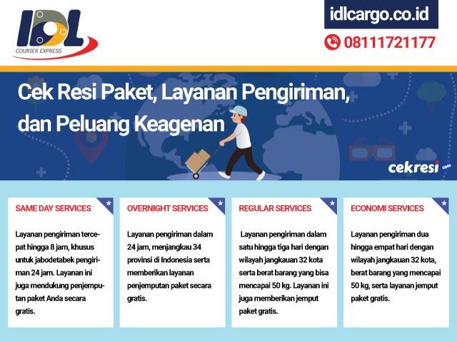 IDLCargo: Cek Resi Paket, Layanan Pengiriman, dan Peluang Keagenan