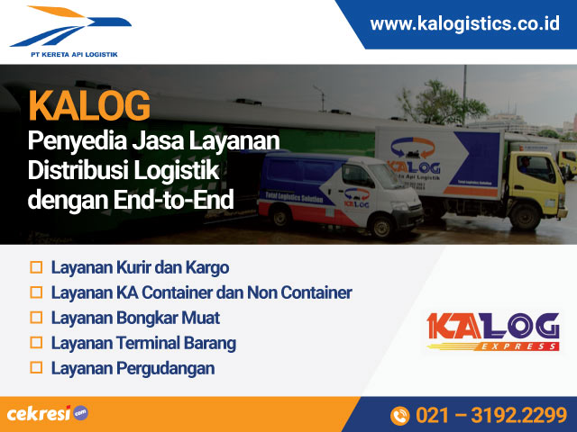 KALOG Penyedia Jasa Layanan Distribusi Logistik dengan End-to-End