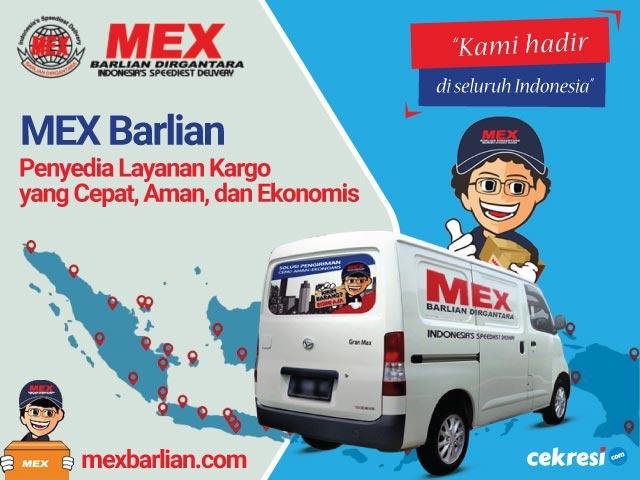 MEX Barlian Penyedia Layanan Kargo yang Cepat, Aman, dan Ekonomis