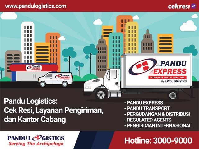 Pandu Logistics Cek Resi, Layanan Pengiriman, dan Kantor Cabang