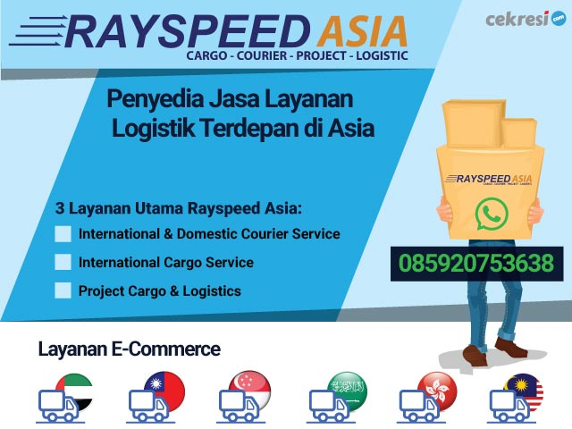 Rayspeed Asia Penyedia Jasa Layanan Logistik Terdepan di Asia