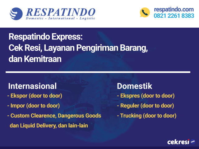 Respatindo Express: Cek Resi, Layanan Pengiriman Barang, dan Kemitraan