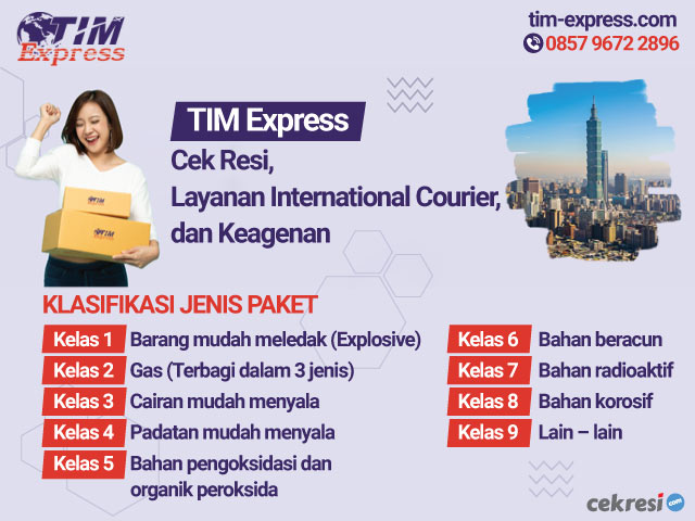 TIM Express: Cek Resi, Layanan International Courier, dan Keagenan