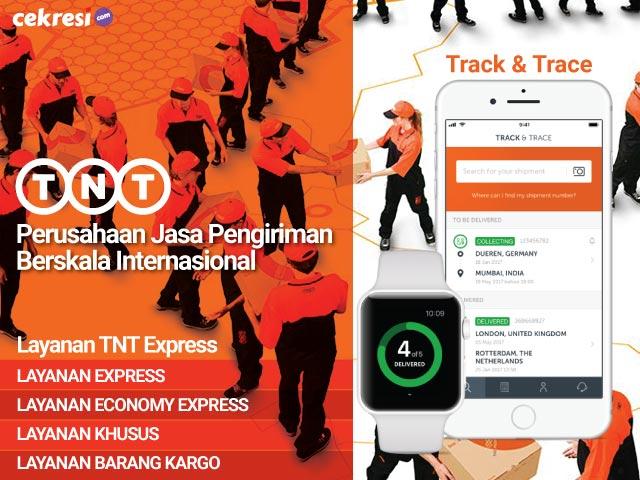 TNT Express, Perusahaan Jasa Pengiriman Berskala Internasional