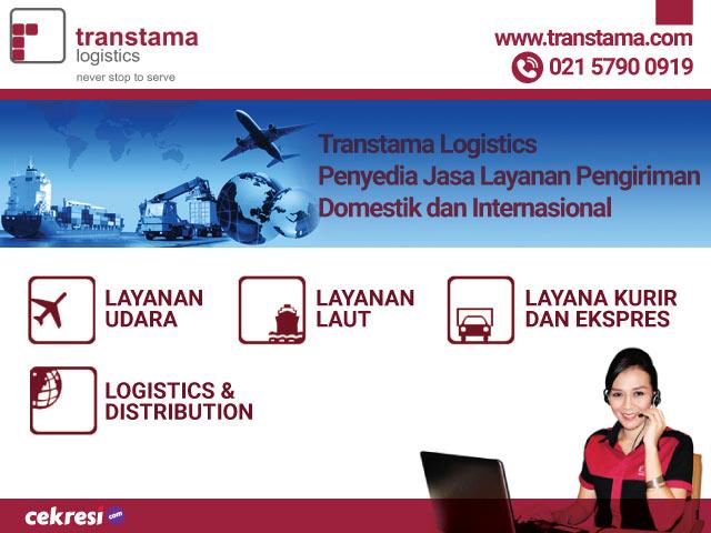 Transtama Logistics Penyedia Jasa Layanan Pengiriman Domestik dan Internasional