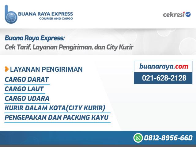 Buana Raya Express: Cek Tarif, Layanan Pengiriman, dan City Kurir