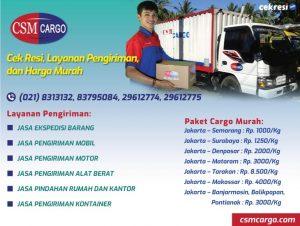 CSM Cargo: Cek Resi, Layanan Pengiriman, dan Harga Murah