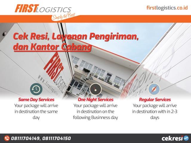 First Logistics: Cek Resi, Layanan Pengiriman, dan Kantor Cabang