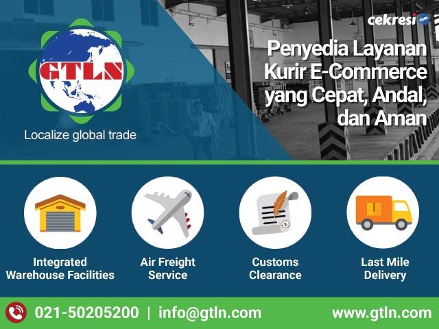 GTLN Penyedia Layanan Kurir E-Commerce yang Cepat, Andal, dan Aman