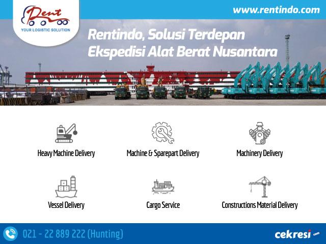 Rentindo, Solusi Terdepan Ekspedisi Alat Berat Nusantara