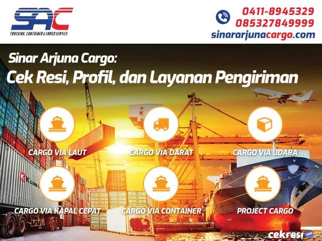 Sinar Arjuna Cargo: Cek Resi, Profil, dan Layanan Pengiriman