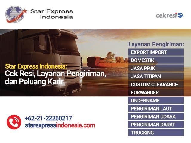 Star Express Indonesia Cek Resi, Layanan Pengiriman, dan Peluang Karir