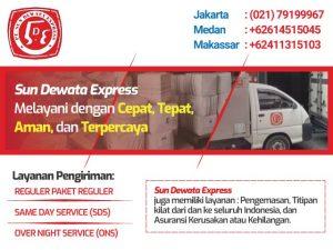 Sun Dewata Express Melayani dengan Cepat, Tepat, Aman, dan Terpercaya
