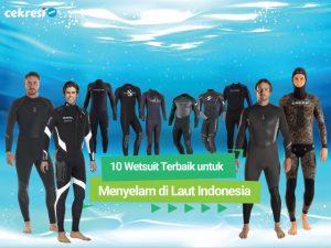 10 Rekomendasi Wetsuit Terbaik untuk Menyelam di Laut Indonesia
