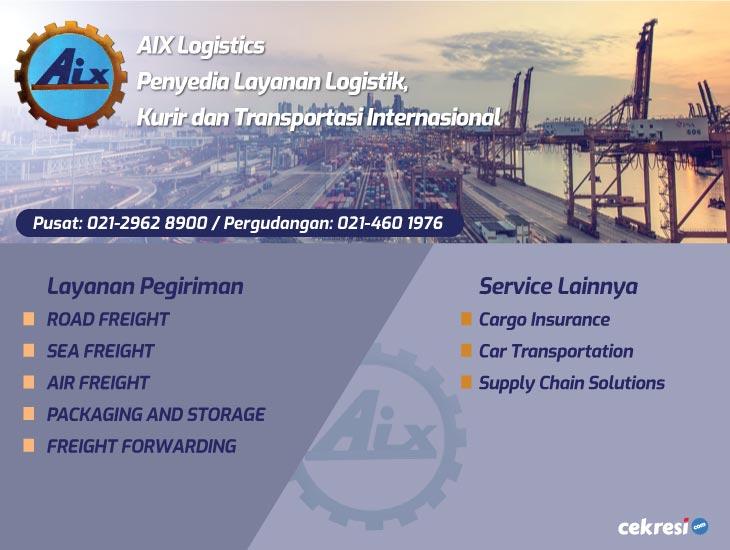 AIX Logistics Penyedia Layanan Logistik, Kurir dan Transportasi Internasional