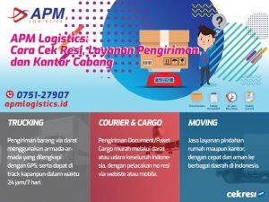 APM Logistics: Cara Cek Resi, Layanan Pengiriman, dan Kantor Cabang