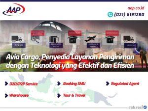 Avia Cargo, Penyedia Layanan Pengiriman dengan Teknologi yang Efektif dan Efisien