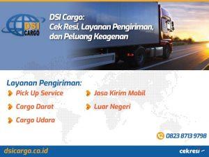 DSI Cargo: Cek Resi, Layanan Pengiriman, dan Peluang Keagenan