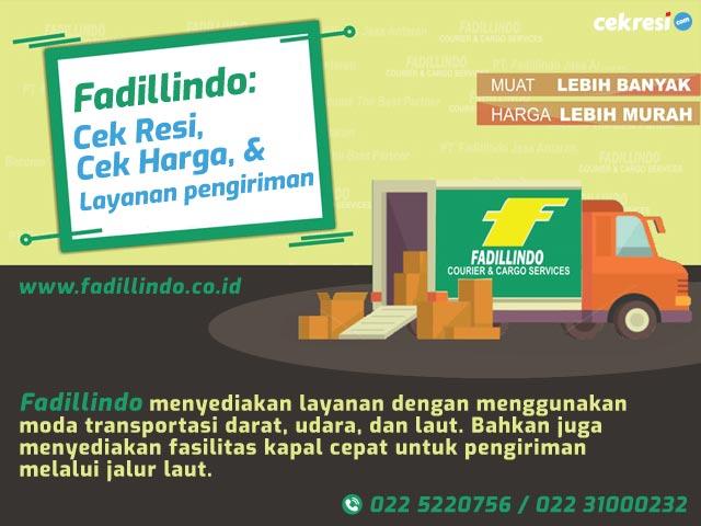 Fadillindo: Cek Resi, Cek Harga, dan Layanan pengiriman