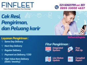 Finfleet: Cek Resi, Layanan Pengiriman, dan Peluang karir