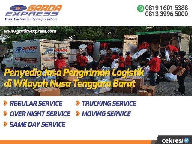 Garda Express Penyedia Jasa Pengiriman Logistik di Wilayah Nusa Tenggara Barat