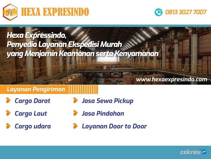 Hexa Expressindo, Penyedia Layanan Ekspedisi Murah yang Menjamin Keamanan serta Kenyamanan