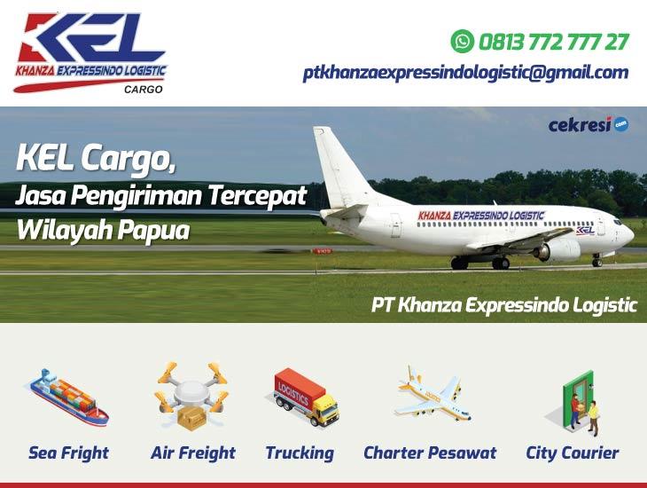 KEL Cargo, Jasa Pengiriman Tercepat Wilayah Papua