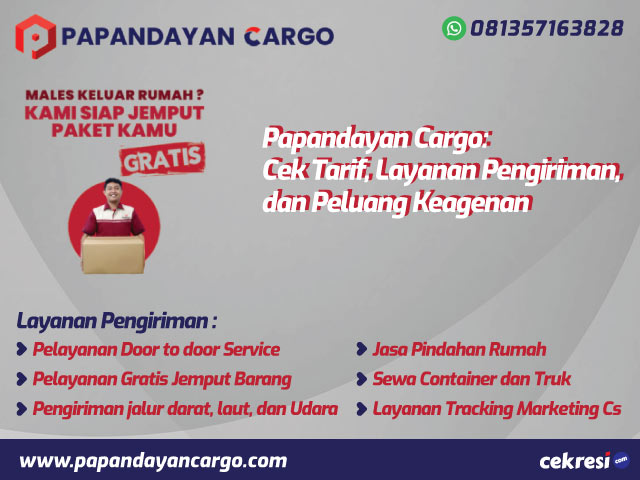 Papandayan Cargo: Cek Tarif, Layanan Pengiriman, dan Peluang Keagenan