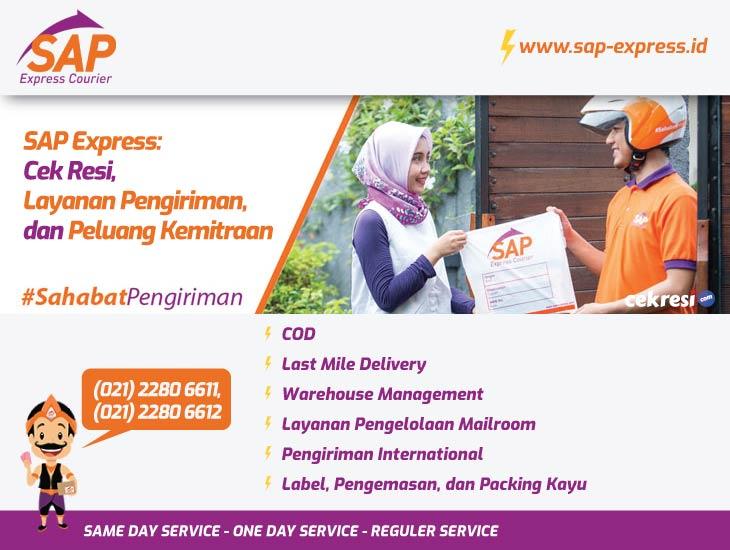 SAP Express: Cek Resi, Layanan Pengiriman, dan Peluang Kemitraan