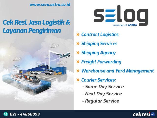 SELOG: Cek Resi, Jasa Logistik dan Layanan Pengiriman
