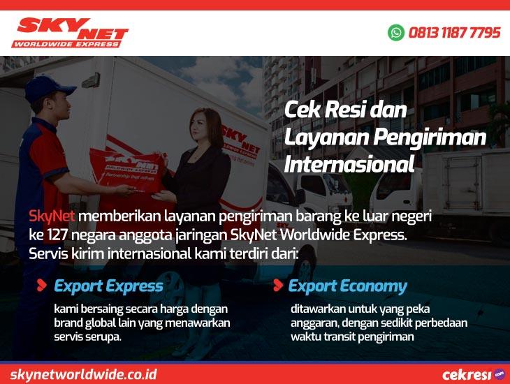SkyNet Worldwide Express: Cek Resi dan Layanan Pengiriman Internasional