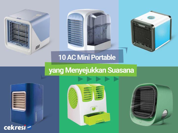 10 Rekomendasi AC Mini Portable yang Menyejukkan Suasana