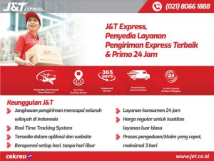 J&T Express, Penyedia Layanan Pengiriman Express Terbaik & Prima 24 Jam