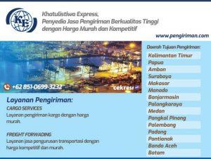 Khatulistiwa Express, Penyedia Jasa Pengiriman Berkualitas Tinggi dengan Harga Murah dan Kompetitif