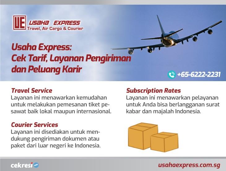 Usaha Express: Cek Tarif, Layanan Pengiriman dan Peluang Karir