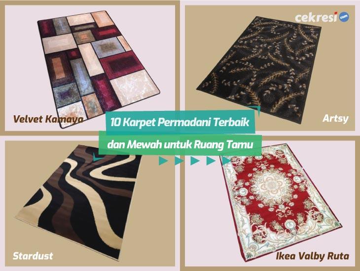 10 Karpet Permadani Terbaik dan Mewah untuk Ruang Tamu