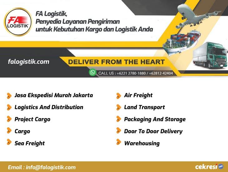 FA Logistik, Penyedia Layanan Pengiriman untuk Kebutuhan Kargo dan Logistik Anda